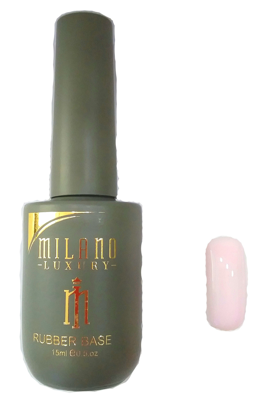 Milano Luxury 15ml, Cover rubber Base Gel №01