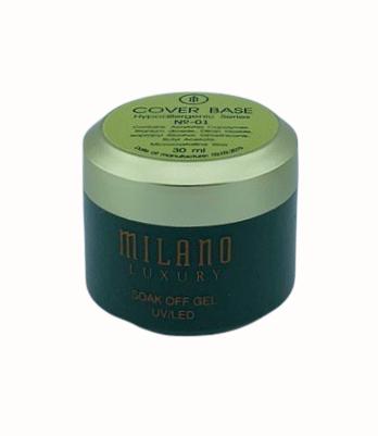 Milano Luxury 30ml, Cover rubber Base Gel №01