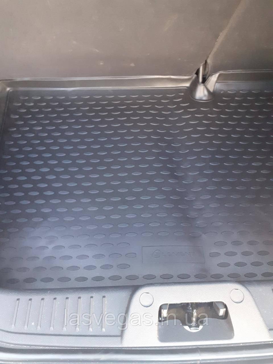 Коврик в багажник  FORD Fiesta 2011- хб. (полиуретан)