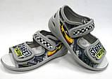 Детские текстильные тапочки, мокасины, туфли, сандали для мальчика тм Waldi 23,24,26, фото 5