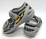 Детские текстильные тапочки, мокасины, туфли, сандали для мальчика тм Waldi 23,24,26, фото 3