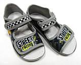 Детские текстильные тапочки, мокасины, туфли, сандали для мальчика тм Waldi 23,24,26, фото 2
