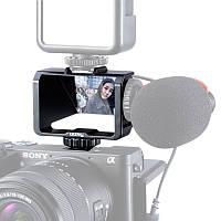 Держатель для камеры с экраном зеркального отображения для селфи Ulanzi UURig R031 + 3 башмака