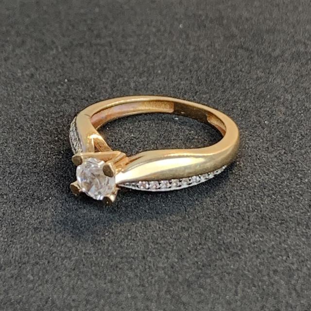 купить золотое кольцо бу