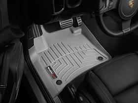 Ковры резиновые WeatherTech Porsche Cayenne 2011-2015  передние серые