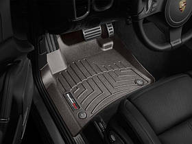 Ковры резиновые WeatherTech Porsche Cayenne 2011-2015    передние какао