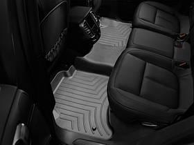 Ковры резиновые WeatherTech Porsche Cayenne 2011-2015   задние (2-х зонный климат) черные