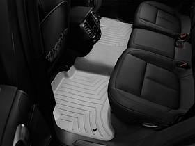 Ковры резиновые WeatherTech Porsche Cayenne 2011-2015    задние (2-х зонный климат) серый