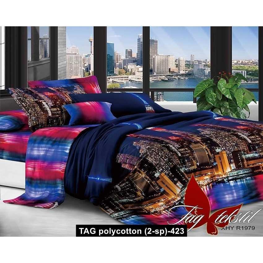 Комплект постельного белья XHY1979, TAG polycotton (2-sp)-423
