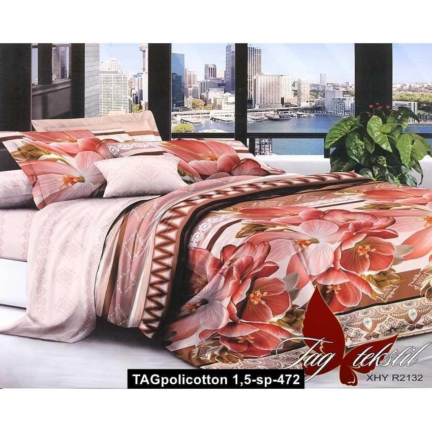 Комплект постельного белья XHY2132, TAGpolicotton 1,5-sp-472