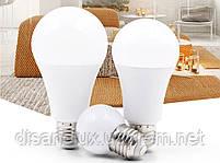 Светодиодная лампа LED SIV-E27-A65-15W-4100K 220V, фото 2
