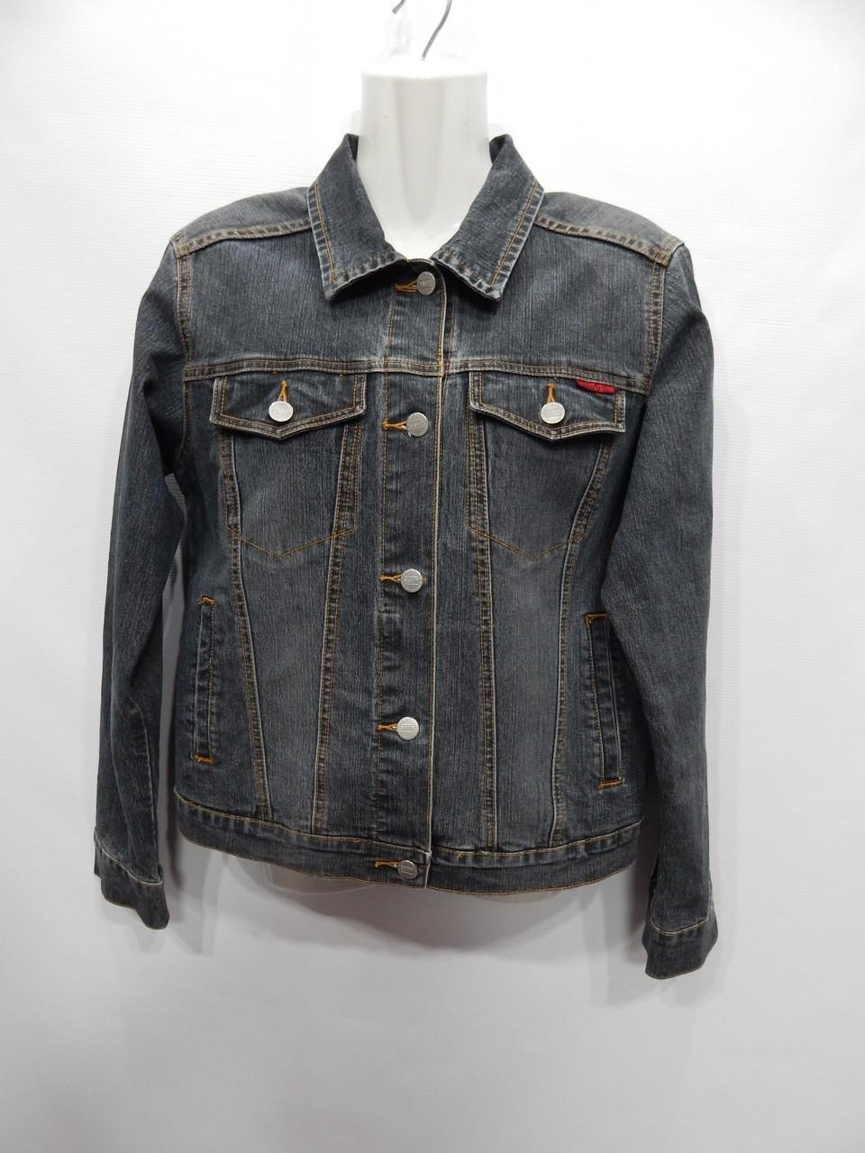 Куртка джинсовая женская SAVVY JEANS  RUS р.48-50, EUR 40 018DG