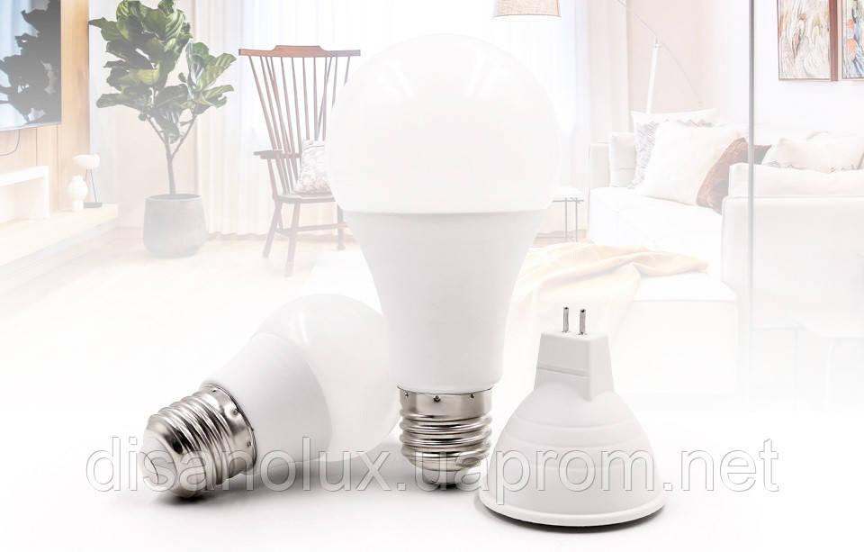 Светодиодная лампа LED SIV-E27-A60-10W-4100K 220V