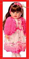 Интерактивная мягконабивная кукла «Панночка» M 5418 UA 50 см (4 вида), 120 фраз, сказки, стихи, загадки