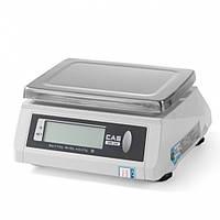 Весы кухонные водонепроницаемые CAS 2 кг