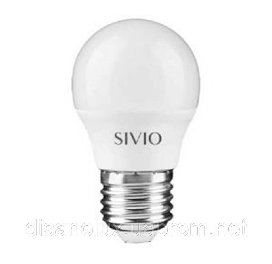 Светодиодная лампа SIV-6 G45 6W E27 4100K 220V