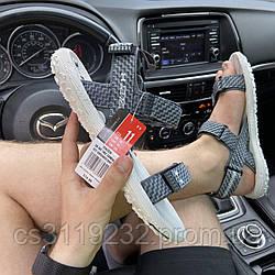 Мужские сандали Under Armour Sandals Fattire x Michelin White Gray (серые)