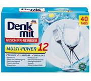 Таблетки для ПММ Denkmit  Multi-Power 12 in1 40шт Оригинал