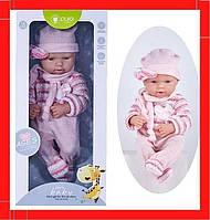 Игрушечный реалистичный пупс Кукла для детских игр Пупсик для девочки с аксессуарами