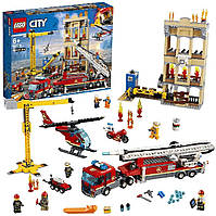 Конструктор LEGO City Лего Центральная пожарная станция 943 детали Downtown Fire Brigade 60216 оригинал