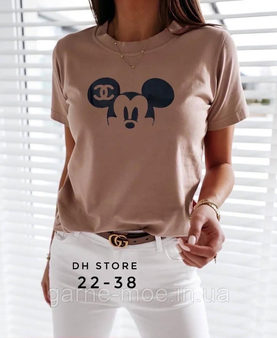 ХА3584 Женская стильная футболка