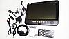 Телевізор акумуляторний LED TV NS-1001, USB, Екран 13,8 дюймів, 220 В та 12 В(ПортТел_NS-1001USB), фото 9