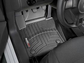 Ковры резиновые WeatherTech VW Touran 2011-2015 передние черные
