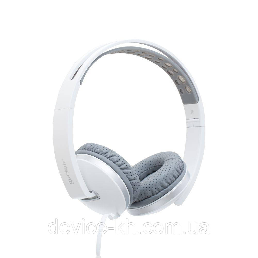 Наушники Gorsun GS-785 White С Микрофоном