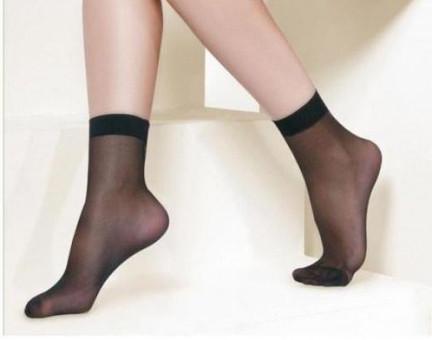 Носки капроновые 40 ден бежевые, черные, мокко, бежевые