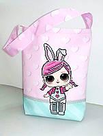 Пошитая сумка для вышивки бисером.