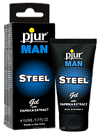 Гель для пениса стимулирующий pjur MAN Steel Gel 50 ml с экстрактом паприки и ментолом