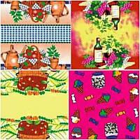 Кухонное полотенце микрофибра Цветные