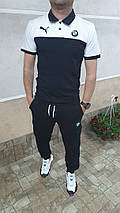 Чоловічий костюм з футболкою поло, фото 3