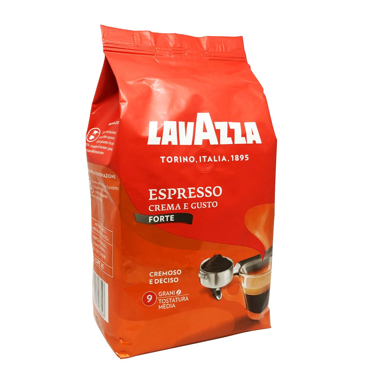 Кофе в зернах Lavazza Crema e Gusto Gusto Forte