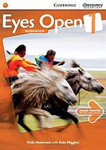 Eyes Open 1 Workbook with Online Practice: Anderson Vicki / Cambridge (Тетрадь с онлайн практикой)