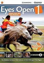 Eyes Open 1 Student's Book with Online Workbook and Online Practice: Ben Goldstein / (Учебник с кодом)