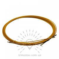 Протяжка кабеля d=3мм 5м Lemanso LMK210 стекловолокно оранж.