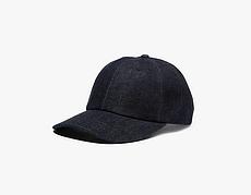 Джинсовая бейсболка Classic Denim Baseball Hat - Dark Blue