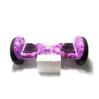 Гироскутер Smart Balance Elite Lux 10,5 дюймов Автобаланс Фиолетовый