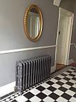 Радіатор чавунний декоративний Carron The Rococco 780 (Англія), фото 2