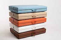 Кушетка чемодан для наращивания ресниц / Кушетка косметолога. 185х60 см. Эко-кожа Украина, Эконом