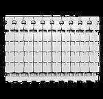 Алюмінієві радіатори Fondital EXCLUSIVO 500/100 B3 (Італія), фото 4