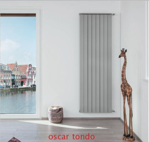Алюмінієвий радіатор Global Oscar Tondo 1600 (Італія)