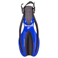 Ласты для дайвинга Dolvor F75 Professional M/L (40-44) синий.