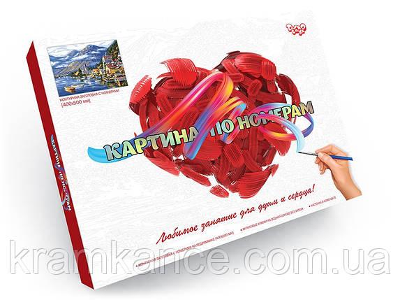 Картина по номерам  DancoToys 40x50 см KPN-01-10 в подарочной инд. упаковке, фото 2