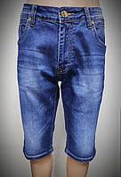 Мужские бриджи джинсовые