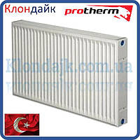 Стальной панельный радиатор Protherm 22 тип 300х400 боковое подключение