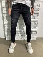 Распродажа Мужские джинси черные Чоловічі штани штаны брендовие