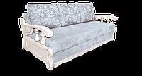 """Диван Софія фабрики """" Біс-М з білими дерев'яними підлокітниками, фото 1"""