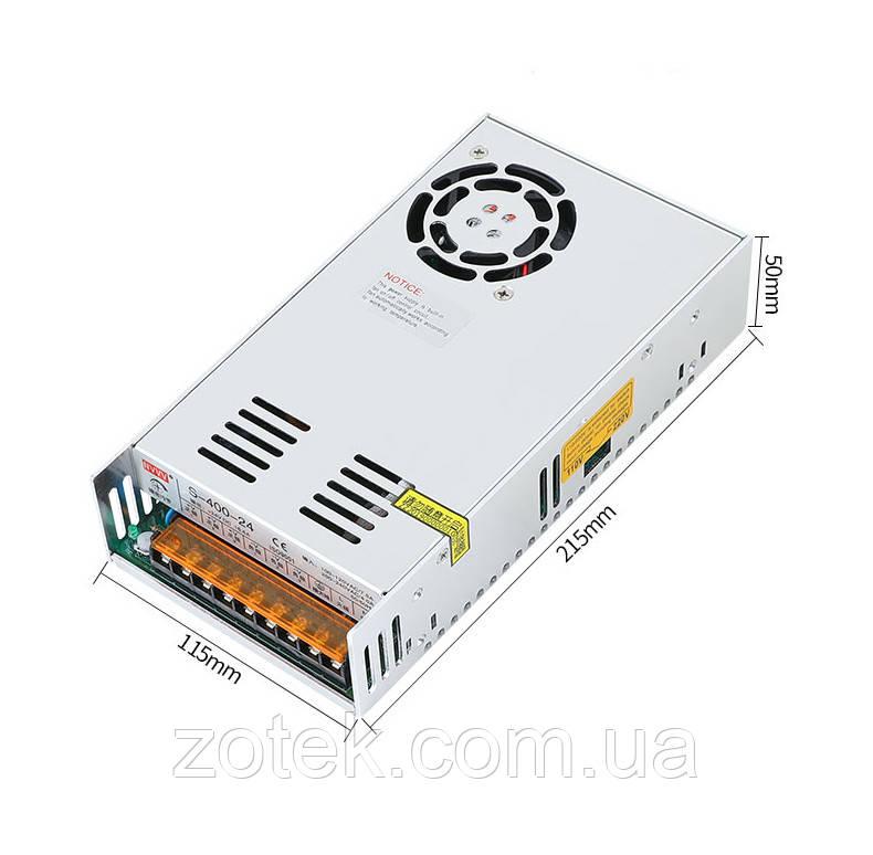 Импульсный источник блок питания NVVV S-400-60V 6.6A 400W для RD6006 60в 6.6а